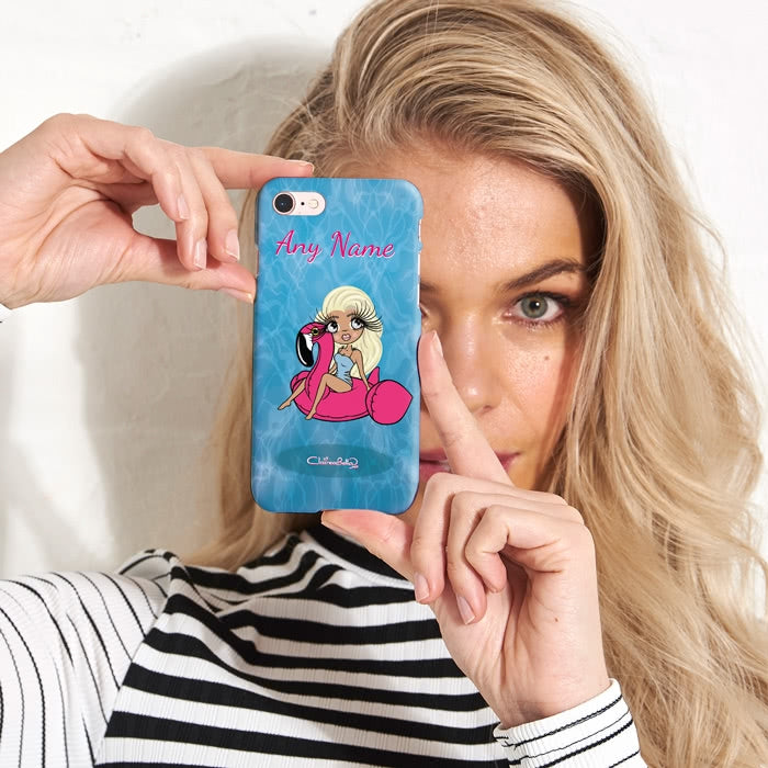 ClaireaBella Personalised Pool Side Phone Case - Image 1