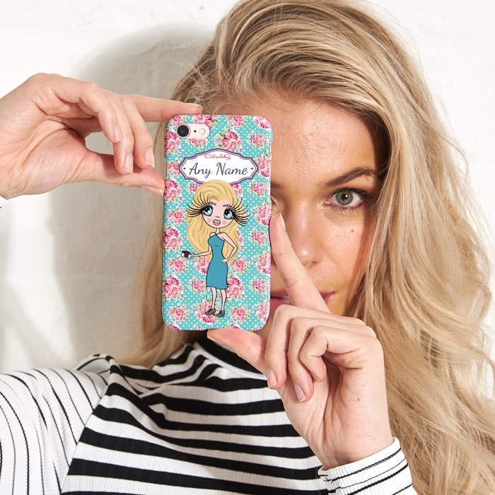 ClaireaBella Personalised Rose Phone Case - Image 2