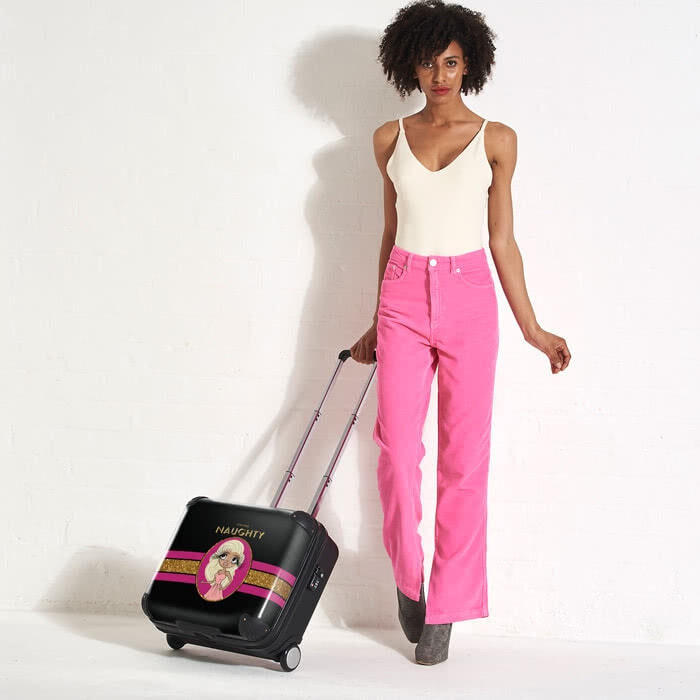 ClaireaBella Slogan Weekend Suitcase - Image 6