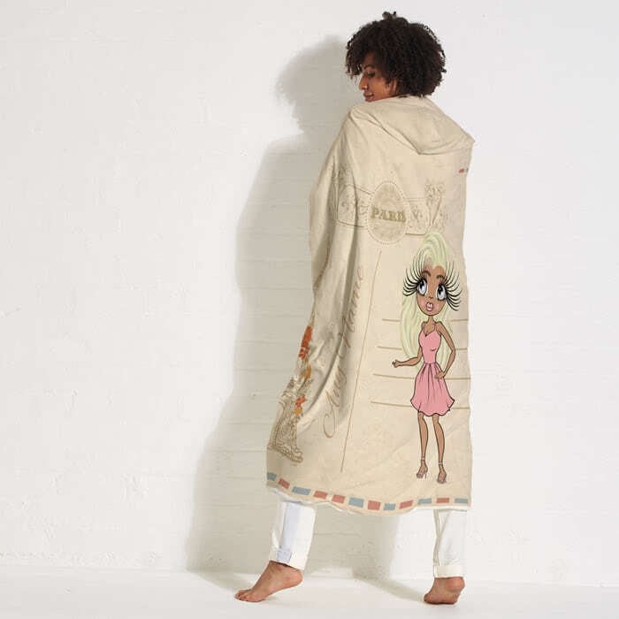 ClaireaBella Paris Hooded Blanket - Image 4