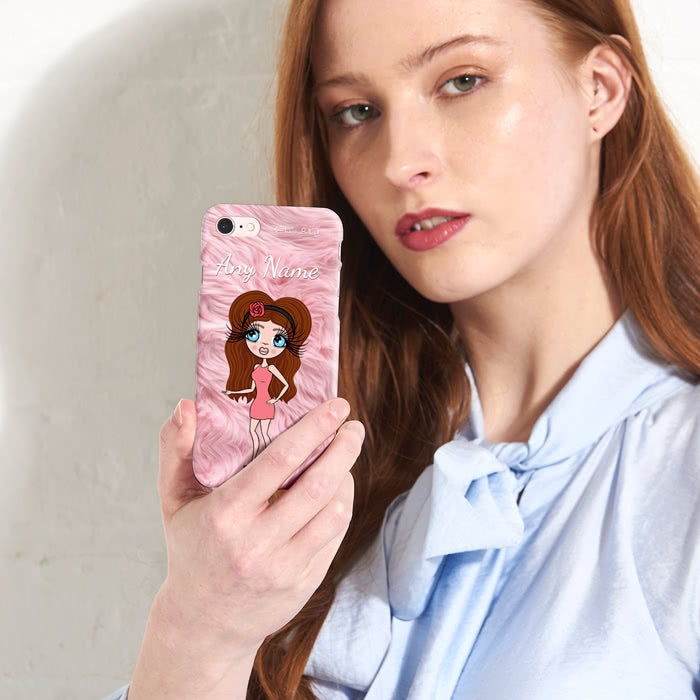 ClaireaBella Personalised Fur Effect Phone Case - Image 5