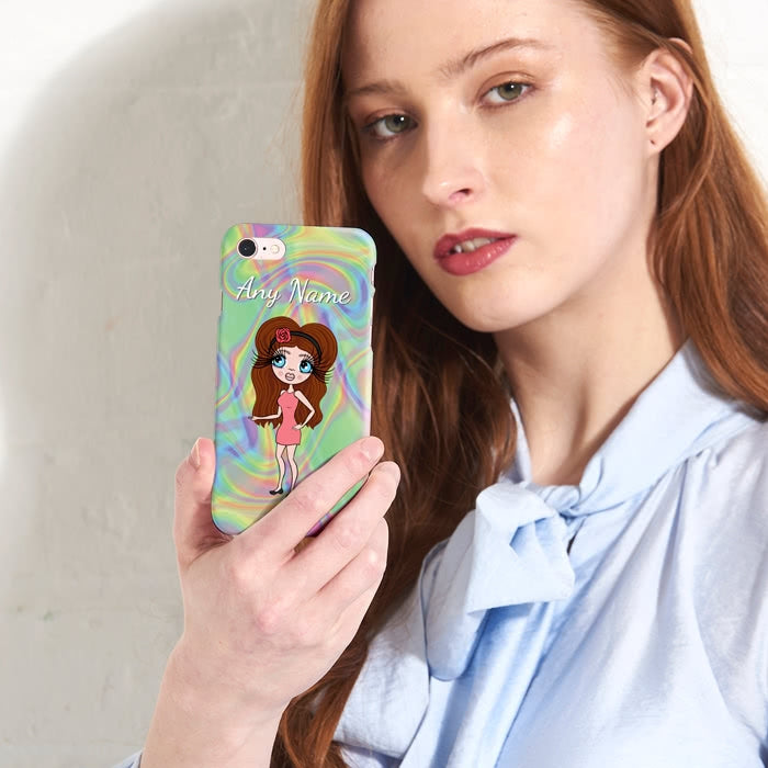 ClaireaBella Personalised Hologram Phone Case - Image 3