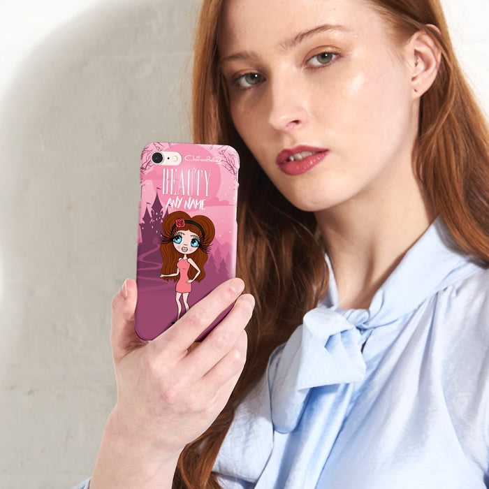 ClaireaBella Personalised The Beauty Phone Case - Image 1