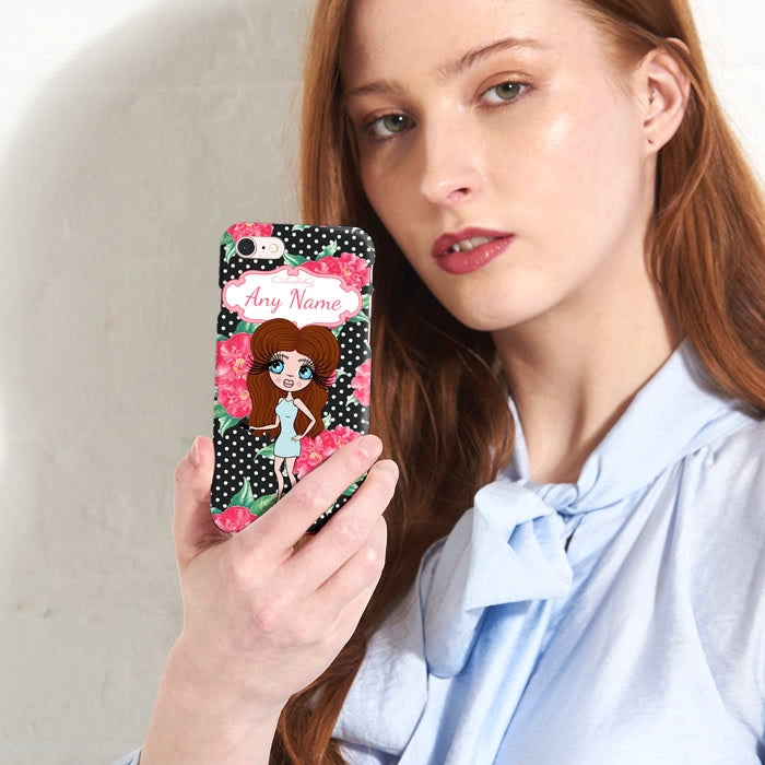 ClaireaBella Personalised Country Floral Phone Case - Image 1