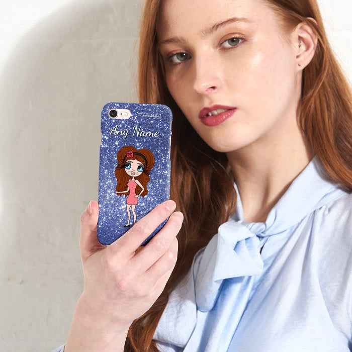 ClaireaBella Personalised Glitter Effect Phone Case - Image 3