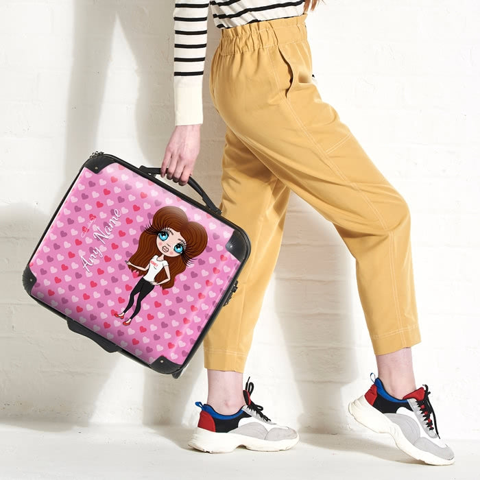 ClaireaBella Hearts Weekend Suitcase - Image 3
