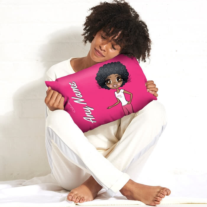 ClaireaBella Placement Cushion - Hot Pink - Image 3