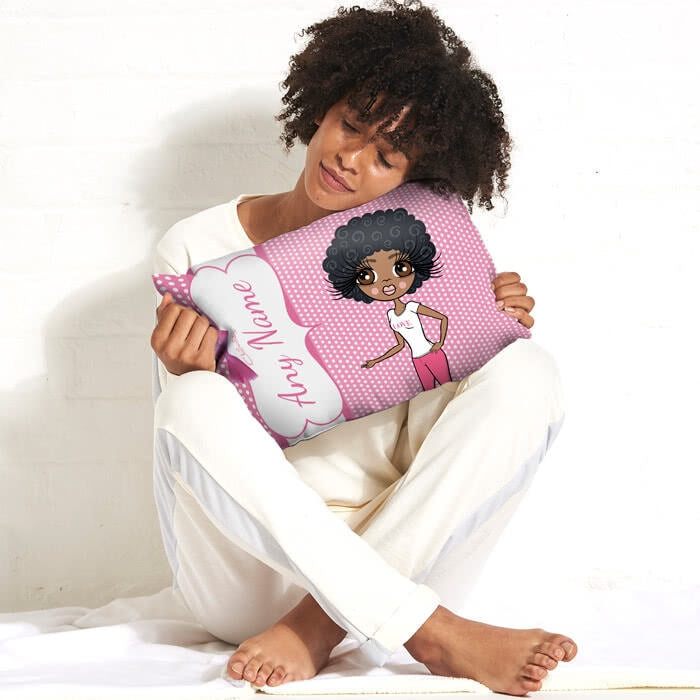 ClaireaBella Placement Cushion - Polka Dot - Image 5