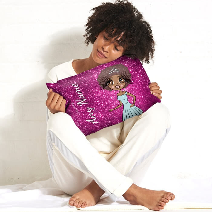 ClaireaBella Placement Cushion - Glitter Print Effect - Image 4