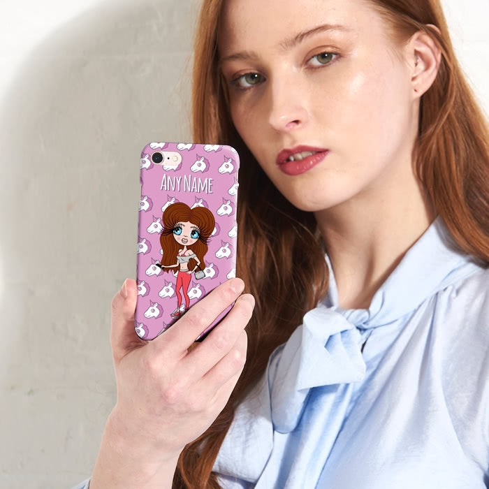 ClaireaBella Personalised Unicorn Emoji Phone Case - Image 1