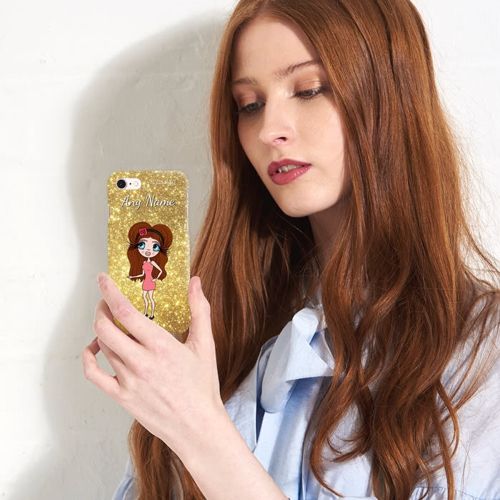 ClaireaBella Personalised Glitter Effect Phone Case - Image 6