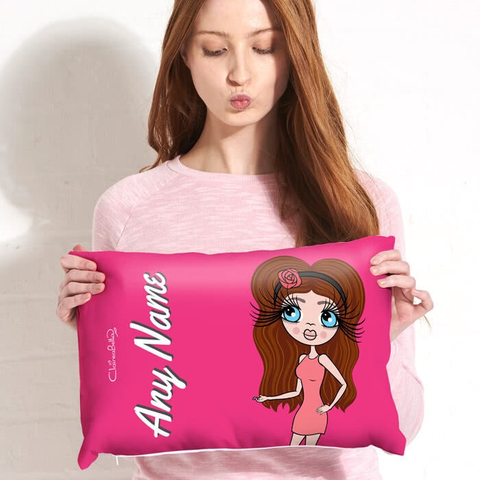 ClaireaBella Placement Cushion - Hot Pink - Image 1