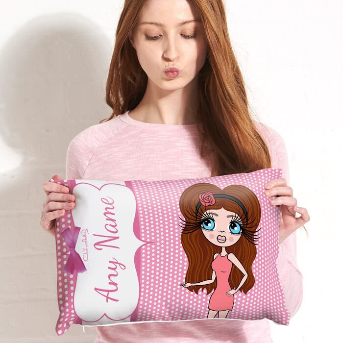 ClaireaBella Placement Cushion - Polka Dot - Image 1
