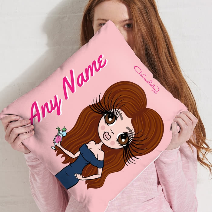 ClaireaBella Square Cushion - Close Up - Image 5