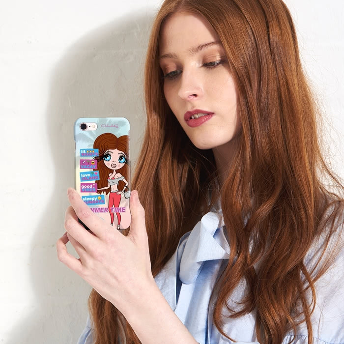 ClaireaBella Personalised Summertime Phone Case - Image 6