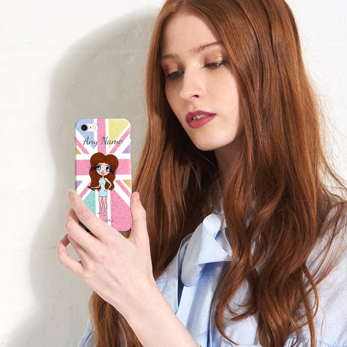 ClaireaBella Personalised Union Jack Phone Case - Image 4