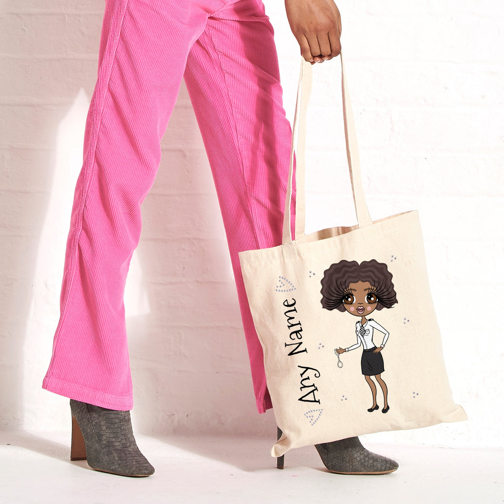 ClaireaBella Police Canvas Bag - Image 1