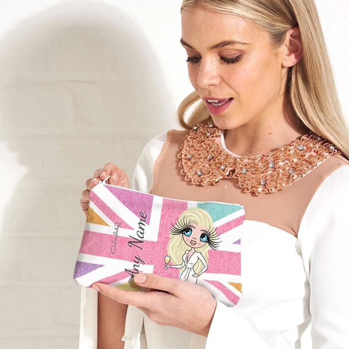 ClaireaBella Union Jack Make Up Bag - Image 1