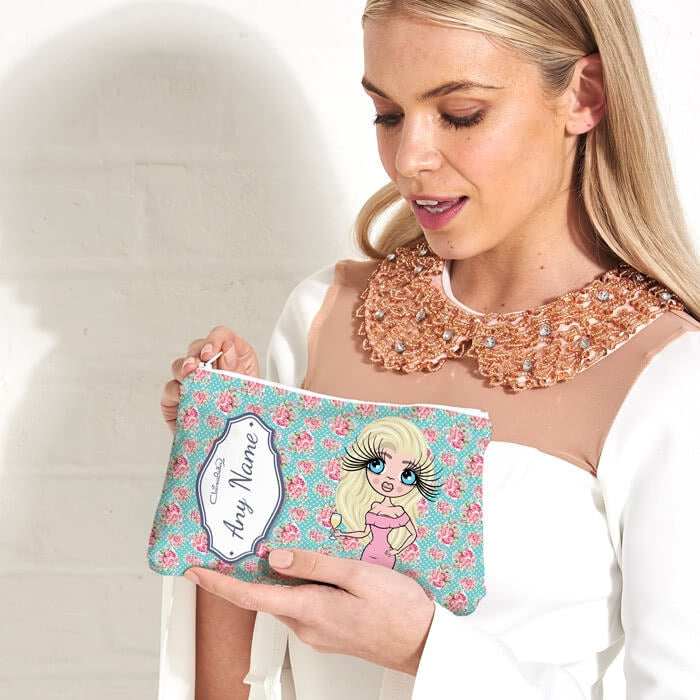 ClaireaBella Rose Make Up Bag - Image 1