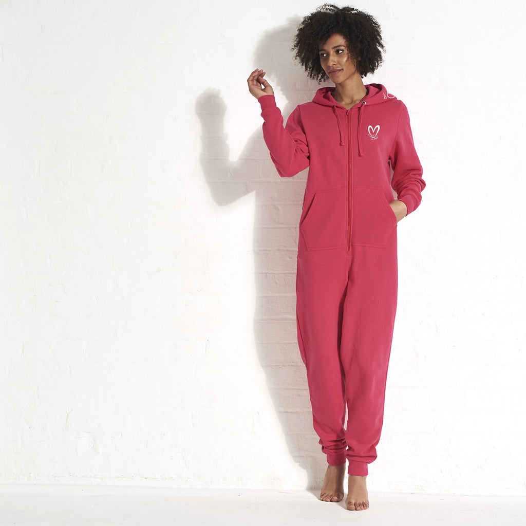 ClaireaBella Adult Be My Quarantine Couples Onesie - Image 6