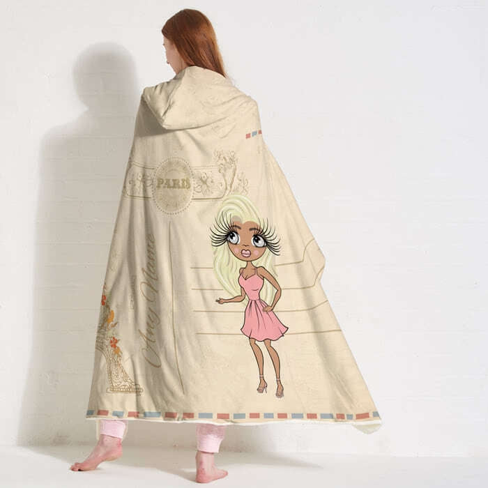 ClaireaBella Paris Hooded Blanket - Image 5
