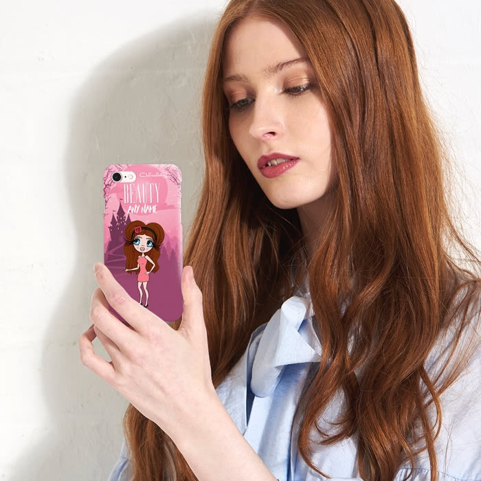 ClaireaBella Personalised The Beauty Phone Case - Image 4