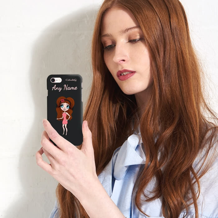 ClaireaBella Personalised Black Phone Case - Image 6