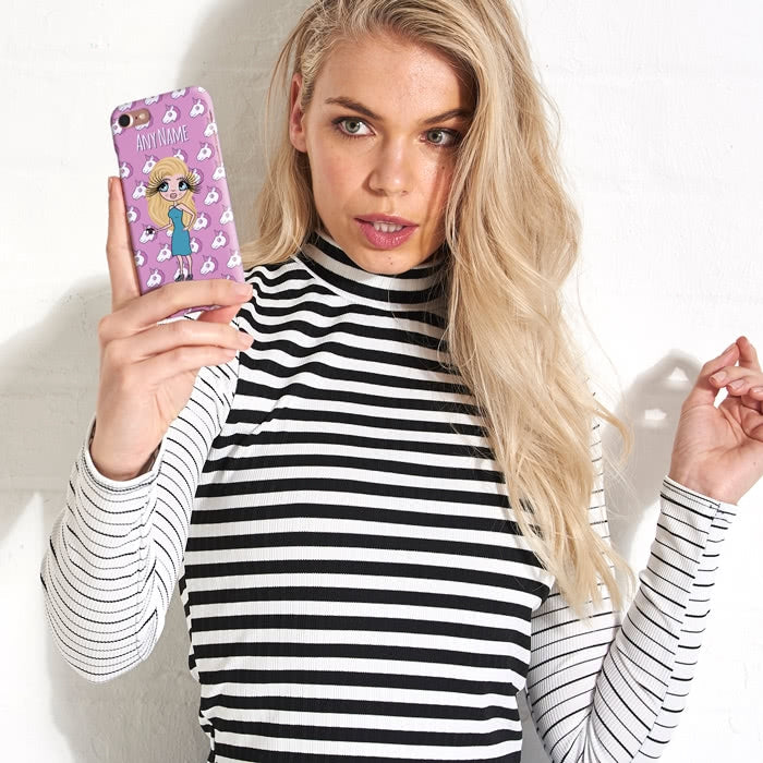 ClaireaBella Personalised Unicorn Emoji Phone Case - Image 5