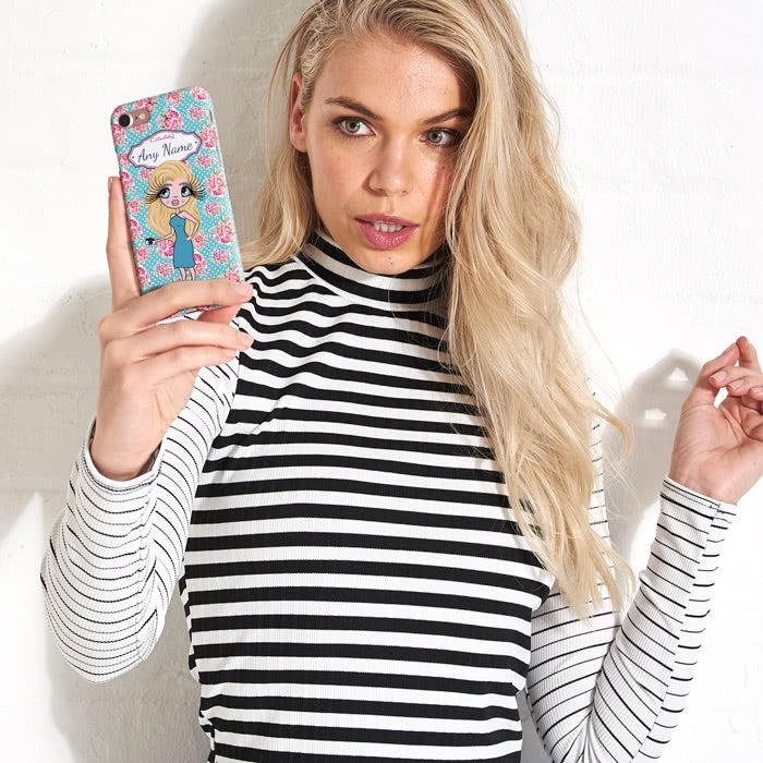 ClaireaBella Personalised Rose Phone Case - Image 5