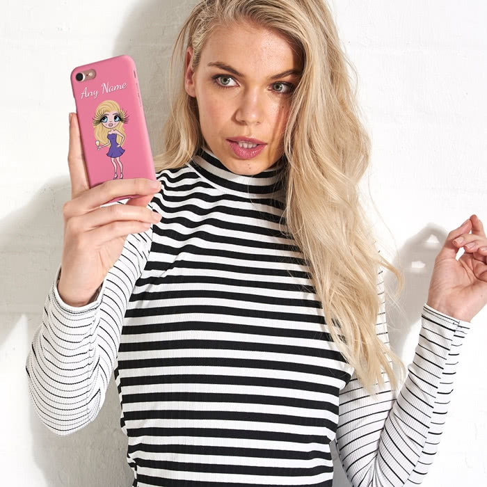 ClaireaBella Personalised Pink Phone Case - Image 6
