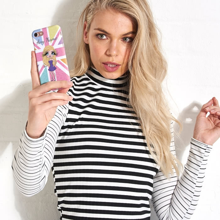 ClaireaBella Personalised Union Jack Phone Case - Image 5