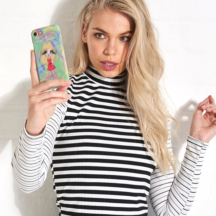 ClaireaBella Personalised Hologram Phone Case - Image 2