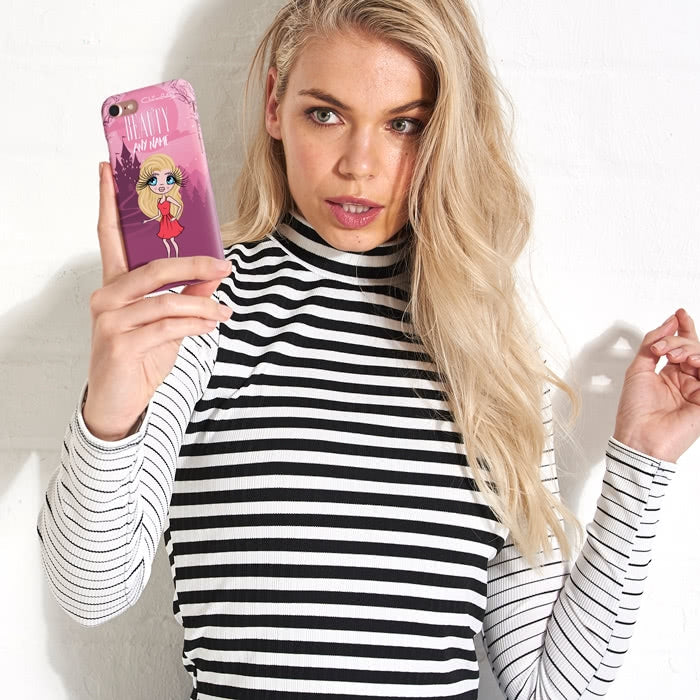 ClaireaBella Personalised The Beauty Phone Case - Image 5