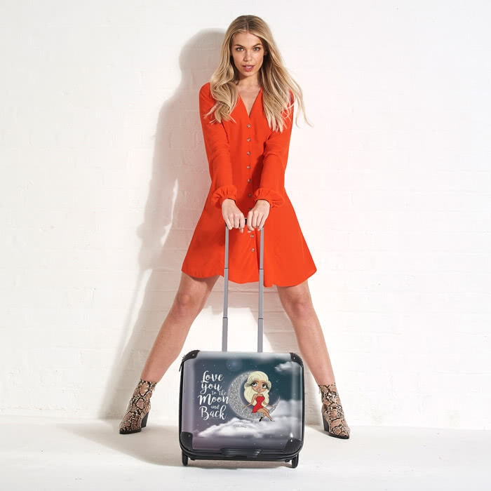 ClaireaBella Love You To The Moon Weekend Suitcase - Image 2