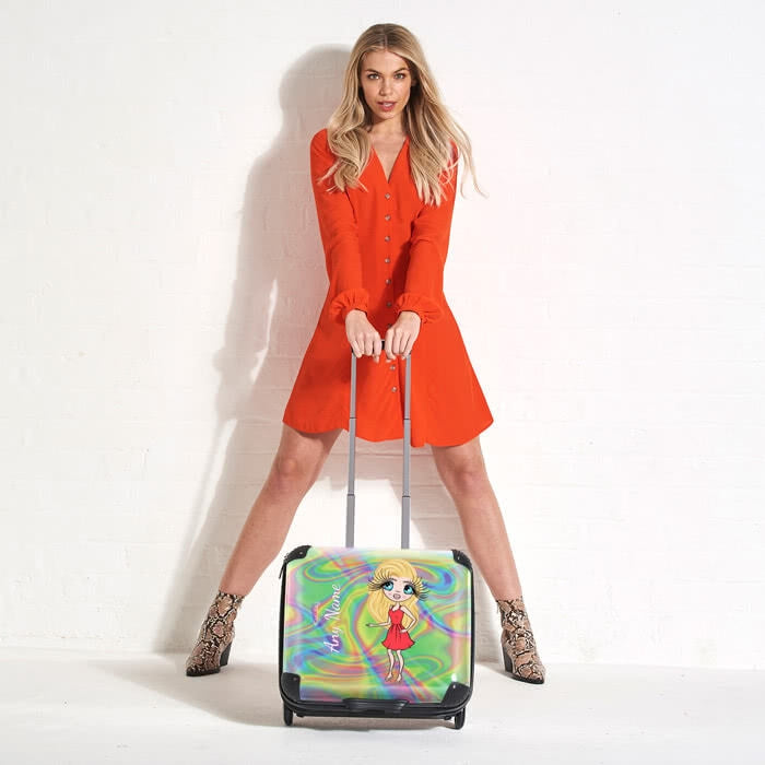 ClaireaBella Hologram Weekend Suitcase - Image 2