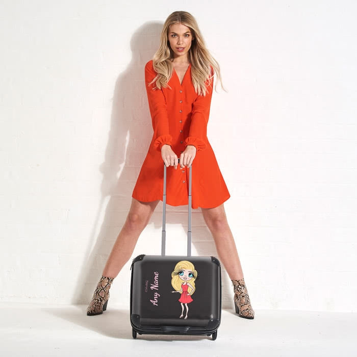 ClaireaBella Black Weekend Suitcase - Image 1