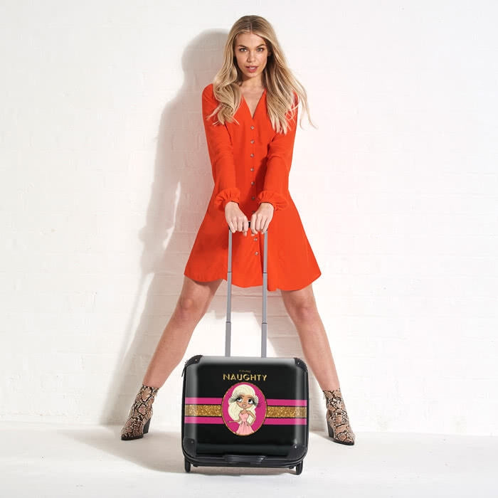 ClaireaBella Slogan Weekend Suitcase - Image 7