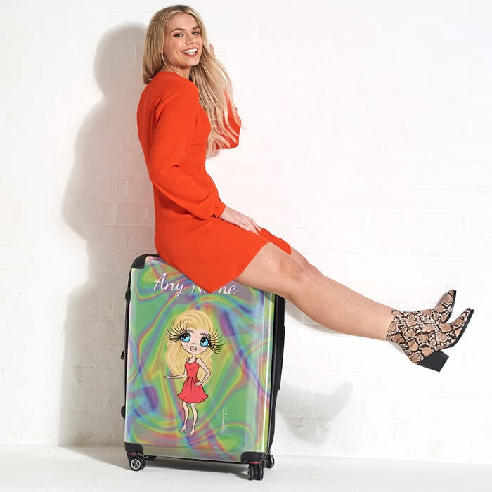 ClaireaBella Hologram Suitcase - Image 3