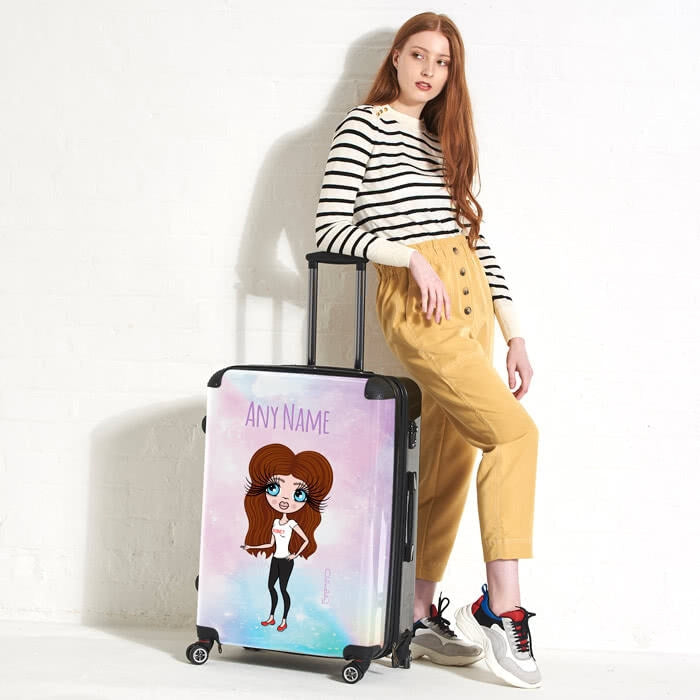ClaireaBella Unicorn Colours Suitcase - Image 5