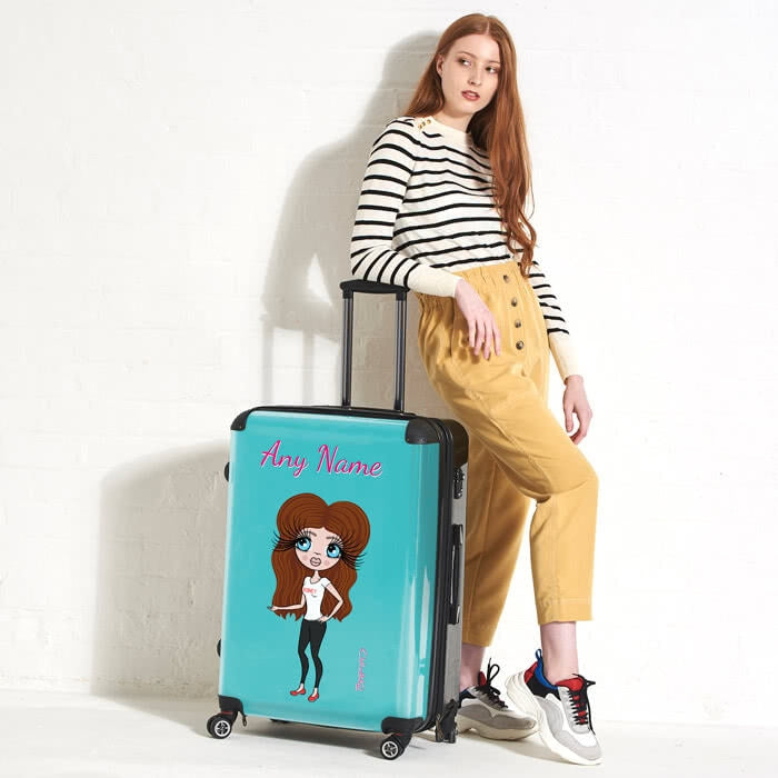 ClaireaBella Turquoise Suitcase - Image 5