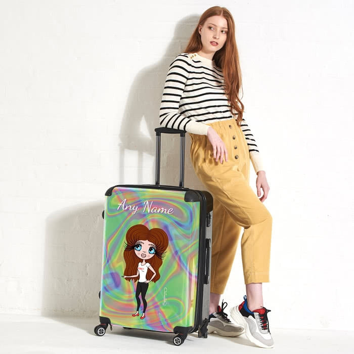 ClaireaBella Hologram Suitcase - Image 1
