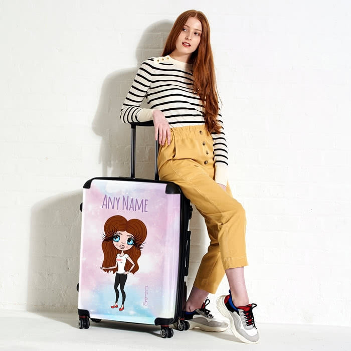 ClaireaBella Unicorn Colours Suitcase - Image 2