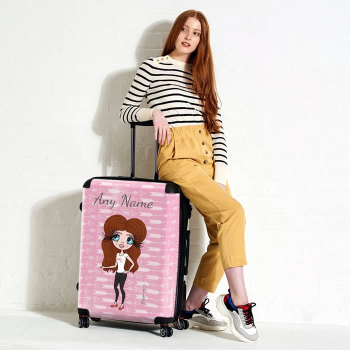 ClaireaBella Cupid's Arrow Suitcase - Image 2