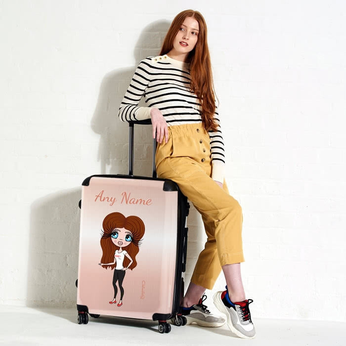ClaireaBella Blush Suitcase - Image 6