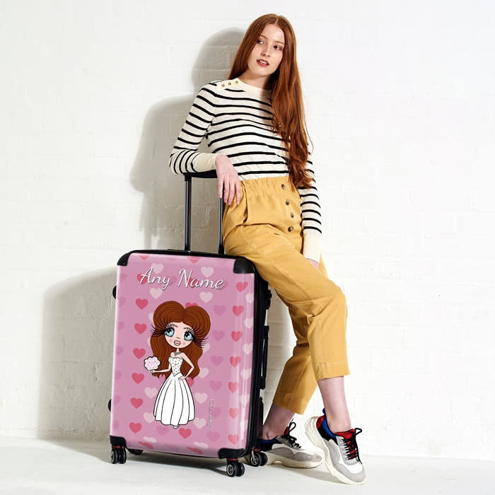 ClaireaBella Heart BrideaBella Suitcase - Image 6