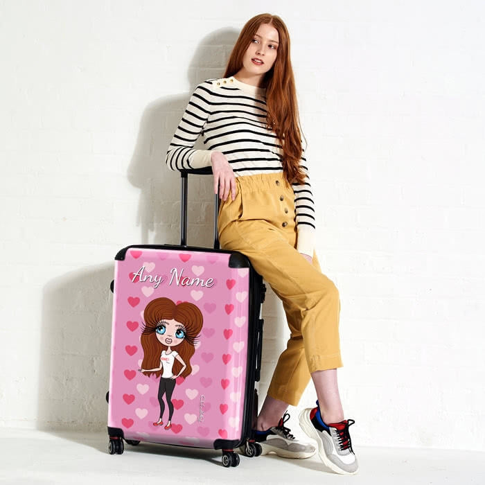 ClaireaBella Heart Suitcase - Image 1