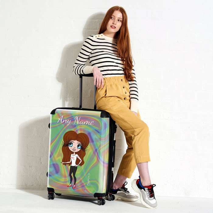 ClaireaBella Hologram Suitcase - Image 4