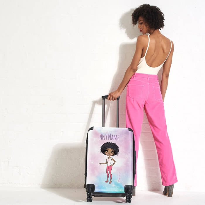ClaireaBella Unicorn Colours Suitcase - Image 1