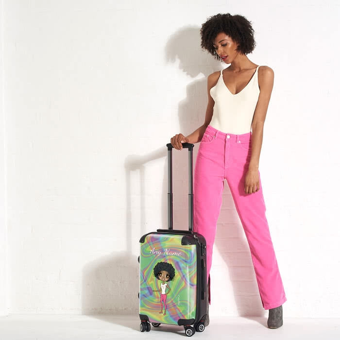 ClaireaBella Hologram Suitcase - Image 5