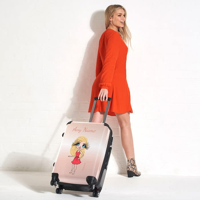 ClaireaBella Blush Suitcase - Image 5